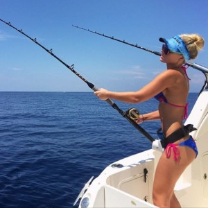 girls that fish,fishing herald