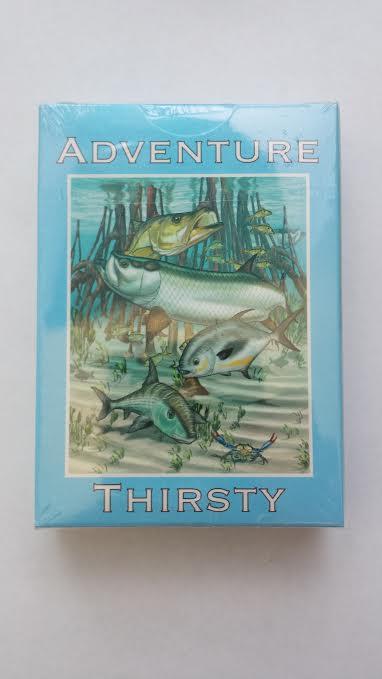 fishing  poker cards